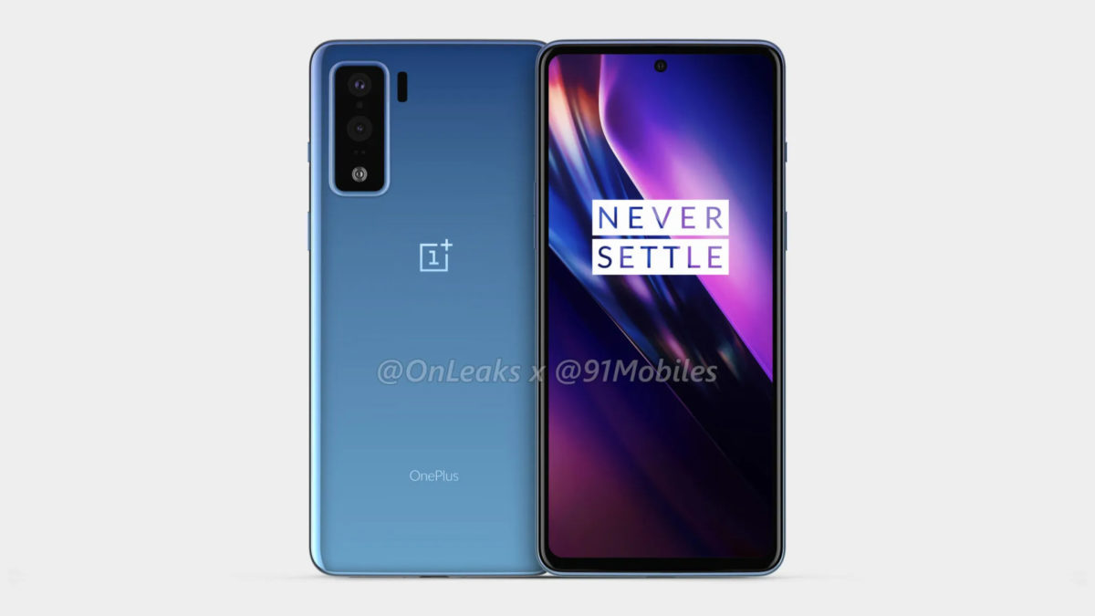 A look at the apparent OnePlus 8 Lite.