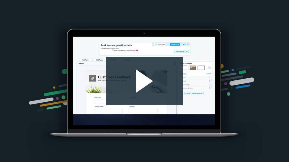 Formstack Salesforce App   Build Salesforce Forms in Minutes