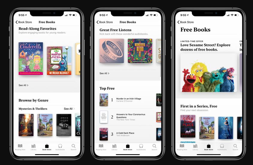 Apple now offering free books and audiobooks to users 1