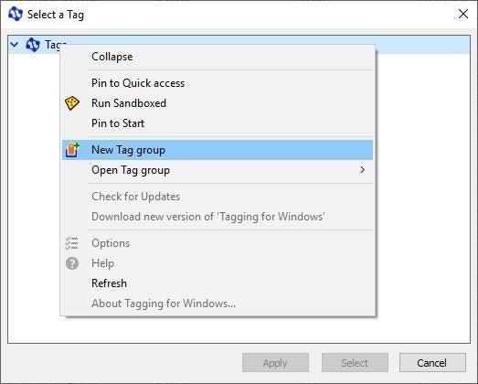 Теги для Windows - Створіть тег 2