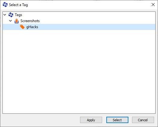 Теги для Windows - Створіть тег 5
