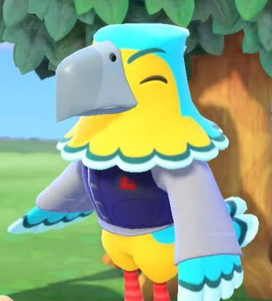Animal Crossing New Horizons Switch Confirmed Characters Keaton