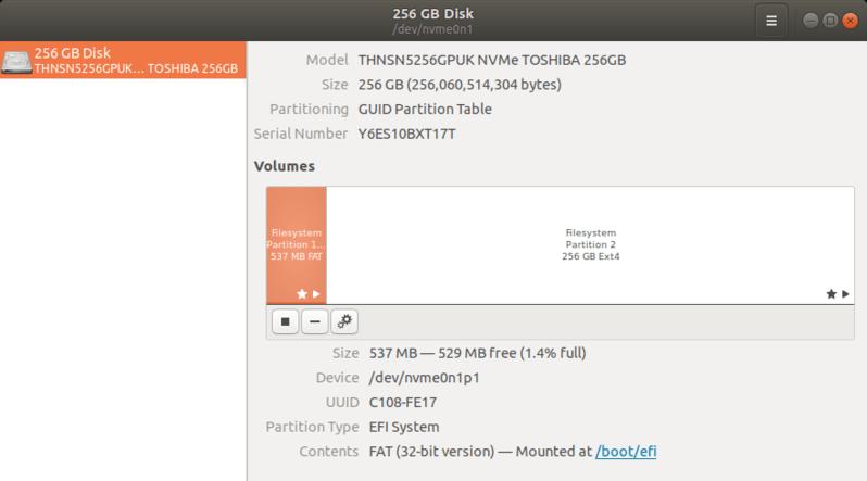 Ang Partition ng Disk sa Single na Ubuntu Install