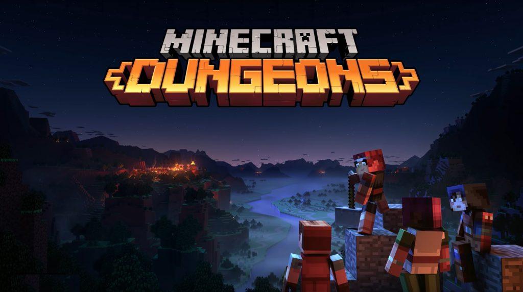 Minecraft, Dungeons, Microsoft