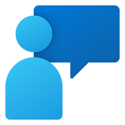 Feedback Hub Fluent Coloful Icon Big 256