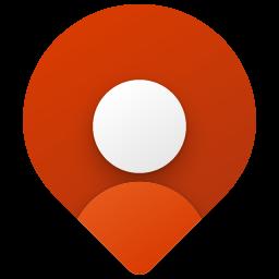 Maps Coloful Fluent Icon