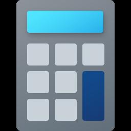 Windows 10 Calculator Fluent Icon Big 256