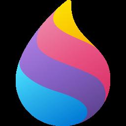 Colorful Fluent Paint 3D Icon Big