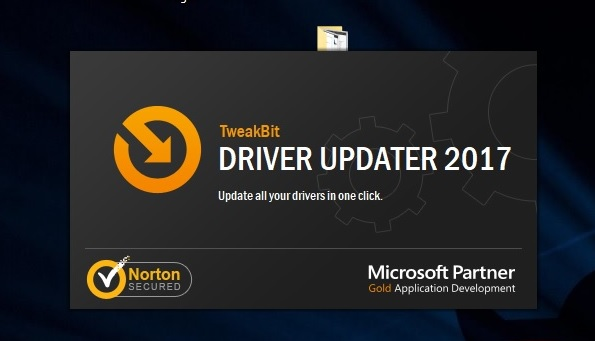 driver updater starting window