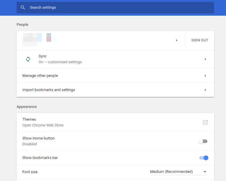 chrome settings adobe flash player is blocked