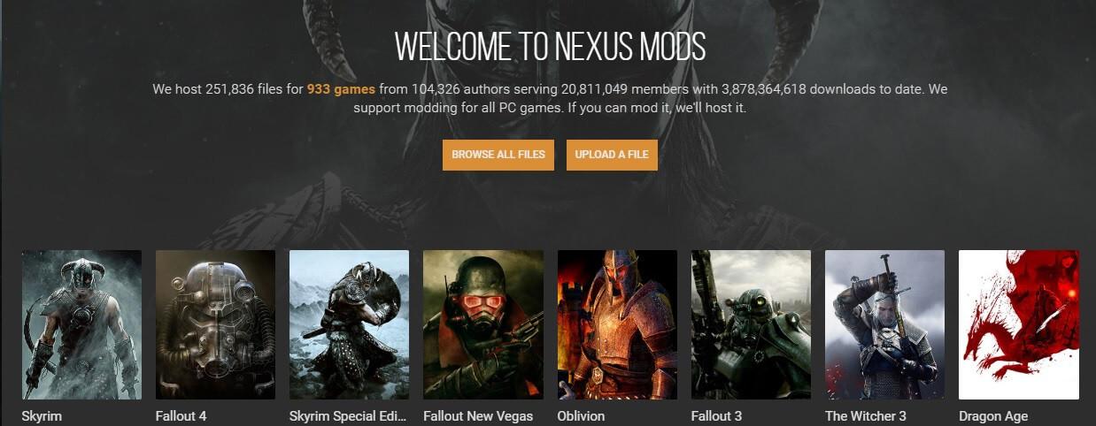 Nexus mods screenshot - nexus mod manager is not set up to work with skyrim