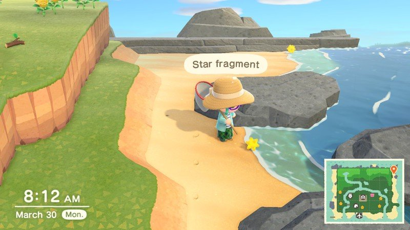 Animal Crossing Shooting Star Screens