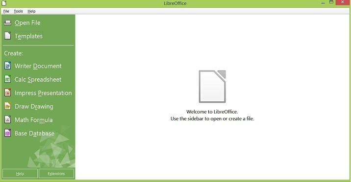 windows 8.1 libre office