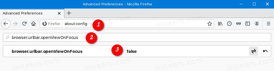 Firefox Restore Classic Address Bar 2
