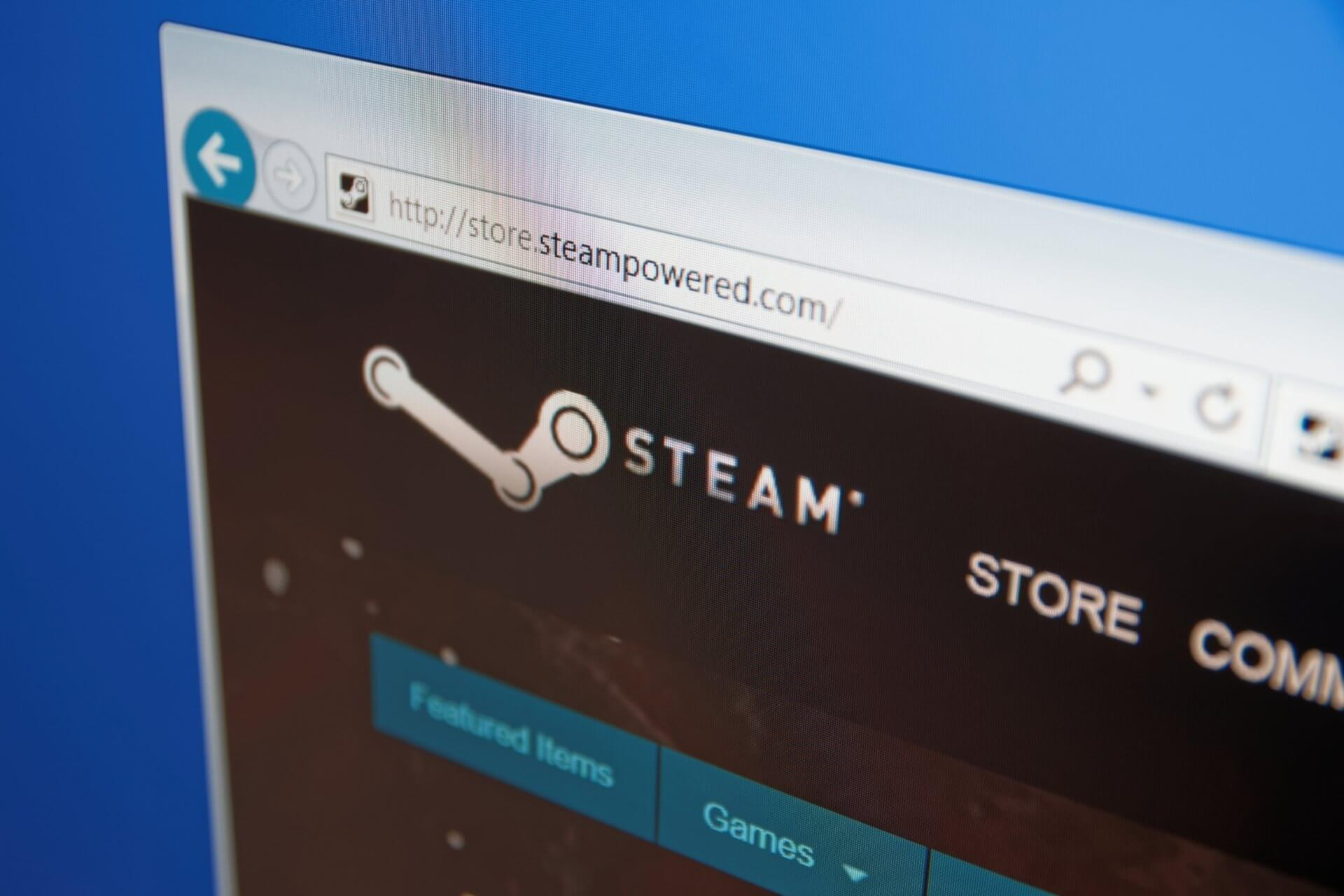 Steam browser not working