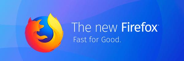 Firefox Quantum Logo Banner