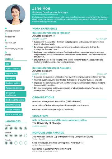 functional-resume-template
