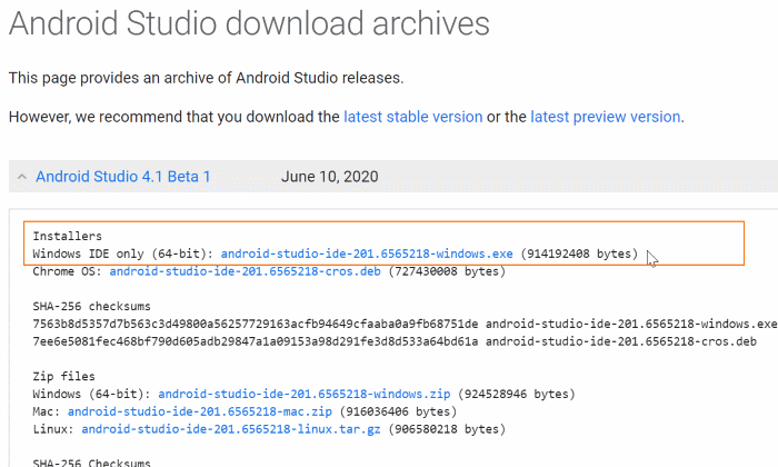 install Android on Windows 10 pic02