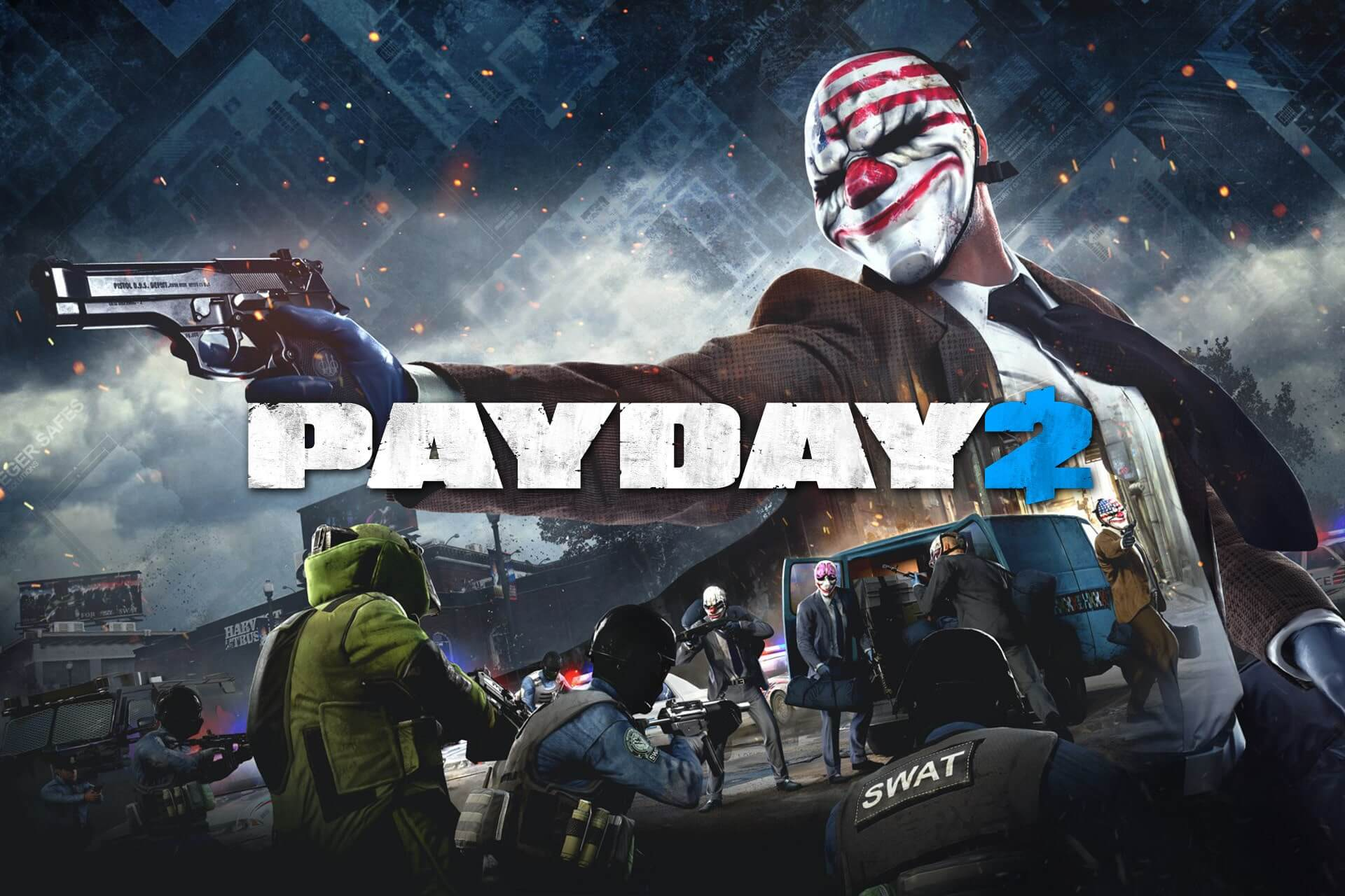 reduce payday 2 lag with vpn