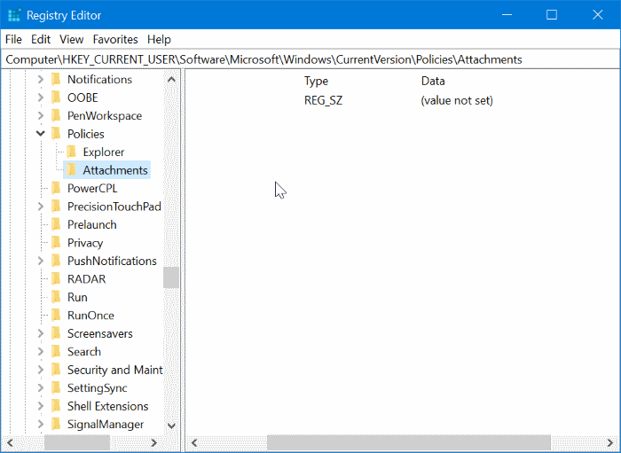 stop Windows 10 from blocking downloaded files pic4