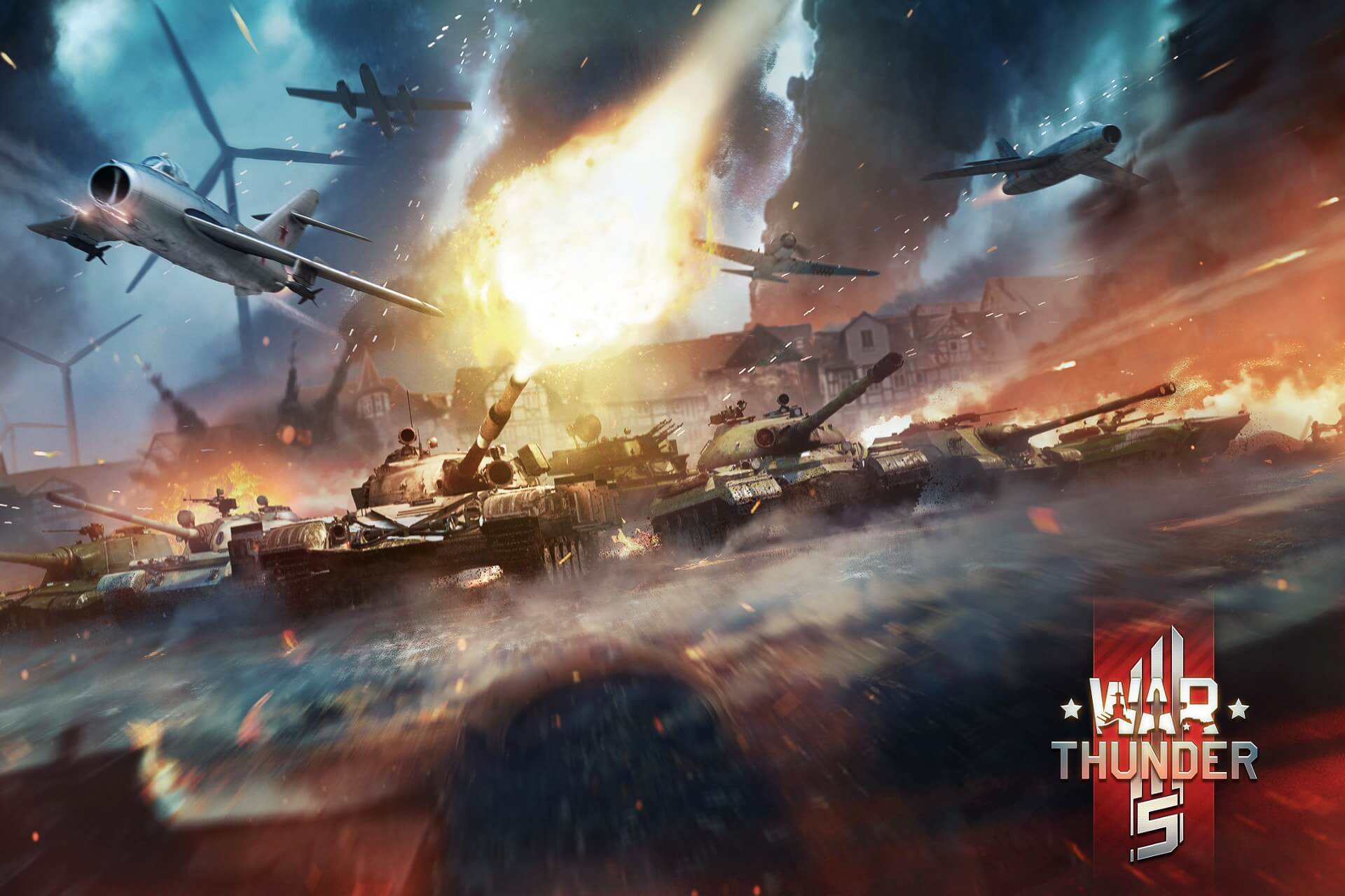 fix war thunder ping spikes with a vpn