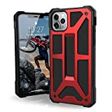 Image of UAG Designed for iPhone 11 Pro Max [6.5-inch screen] Monarch Feather-Light Rugged [Crimson] Military Drop Tested iPhone Case