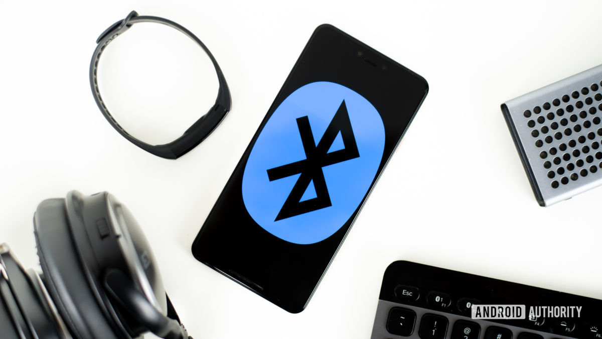 Bluetooth devices stock photo 1