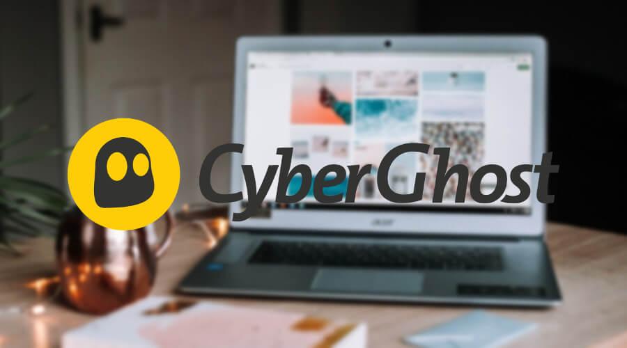 為您使用CyberGhost VPN Windows 10 筆記本電腦