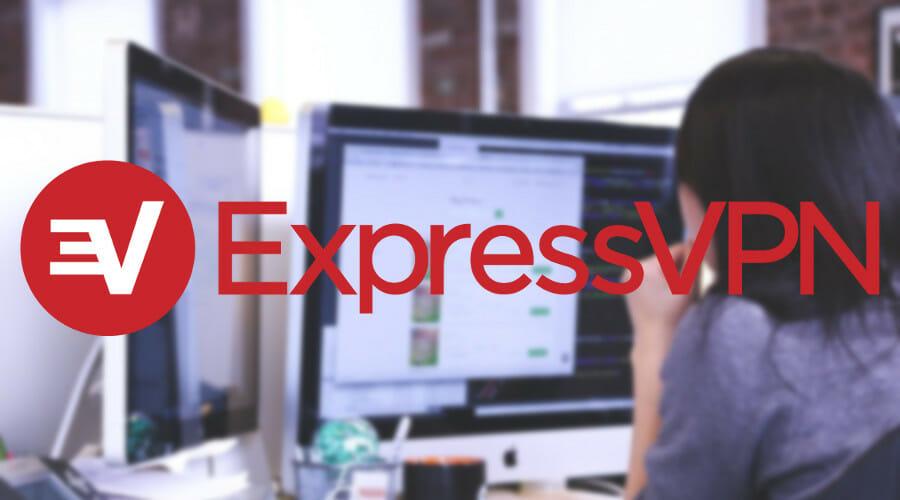 使用ExpressVPN工作