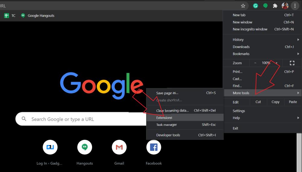 Uninstall Chrome Extensions on Windows