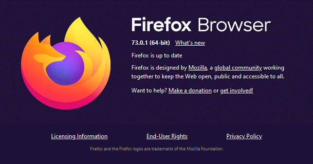 About Firefox window firefox error SEC_ERROR_OCSP_FUTURE_RESPONSE