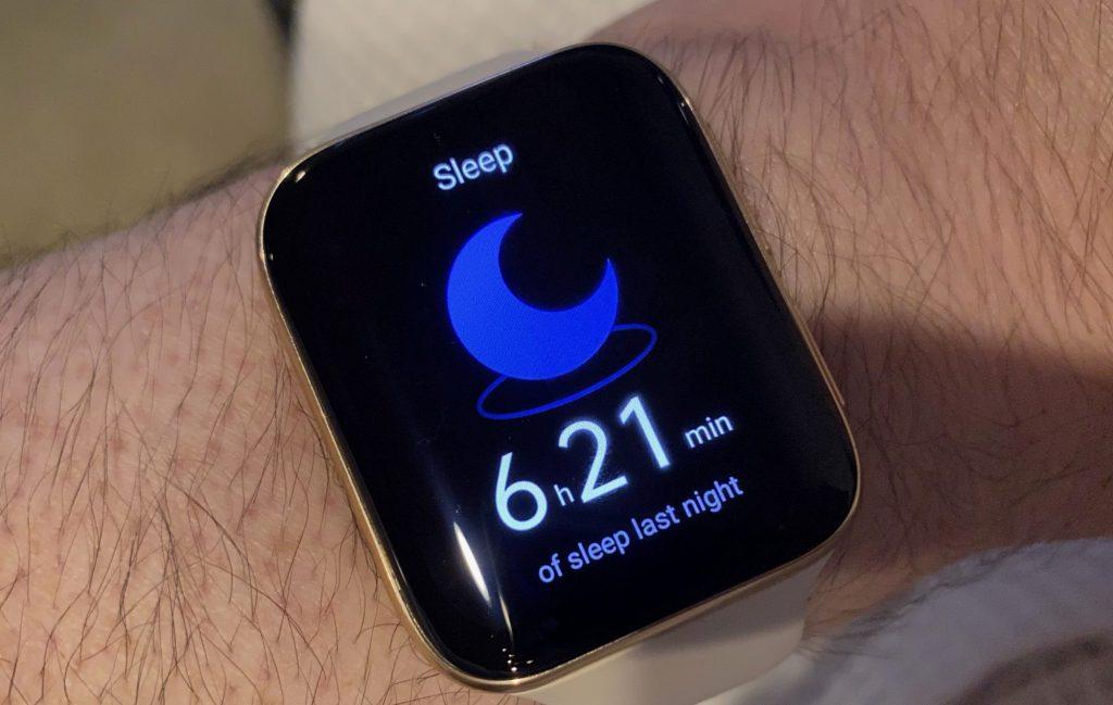 Oppo's sleep tracker.