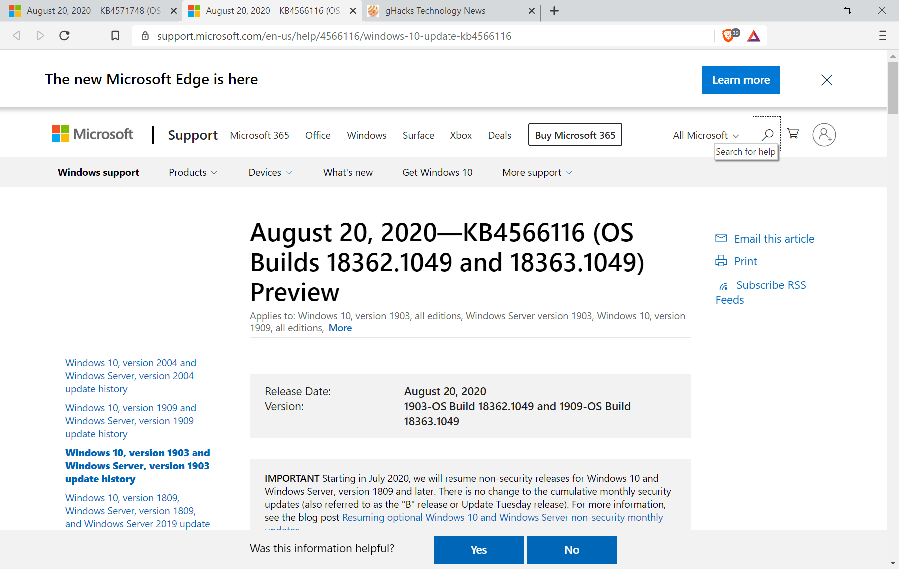 KB4566116-KB4571748-windows-10-updates