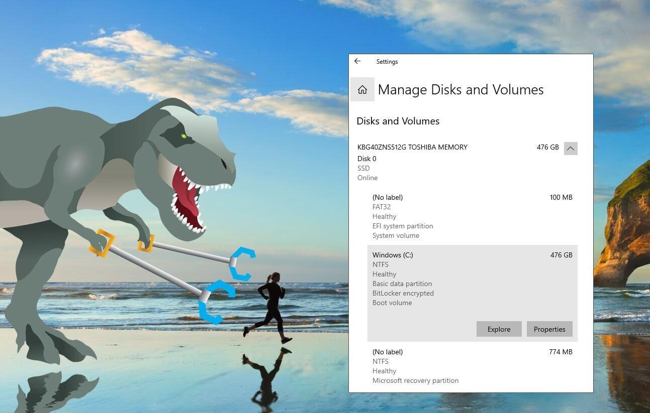 Modern Disk Manager