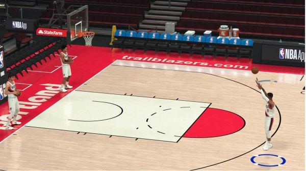 NBA 2K21 Shot Meter Demo
