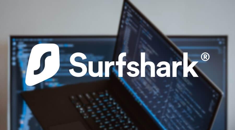 為您使用Surfshark Windows 10 筆記本電腦