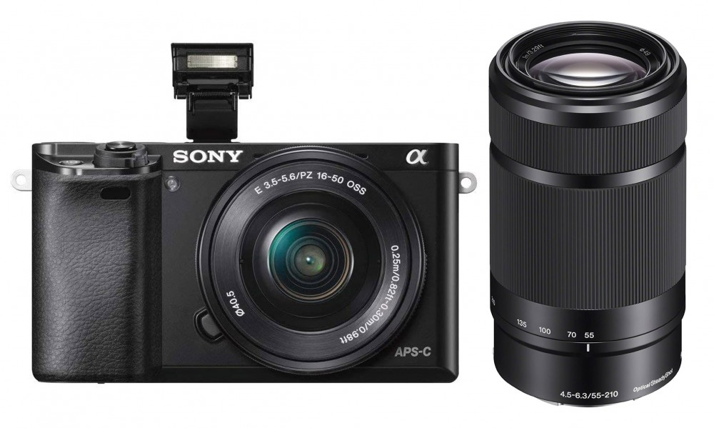 Sony Alpha a6000 and 55-200mm lens