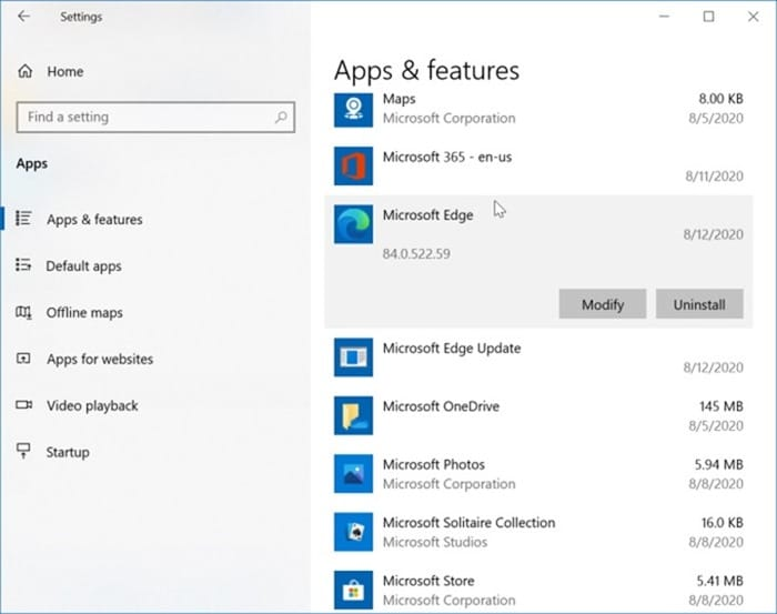 uninstall Edge from Windows 10 pic7