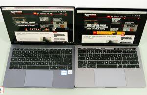 Huawei Matebook X Pro vs Macbook Pro 13