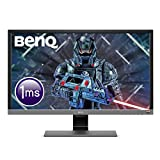 Image of BenQ EL2870U 28 Inch UHD 4K 1 ms HDR Eye-Care LED Gaming Monitor, Free-Sync, B.I. Plus Sensor, HDMI, Display Port, Speaker - Metallic Grey