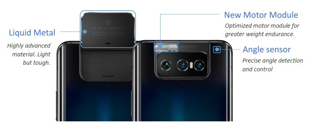 ASUS ZenFone 7 Flip Camera