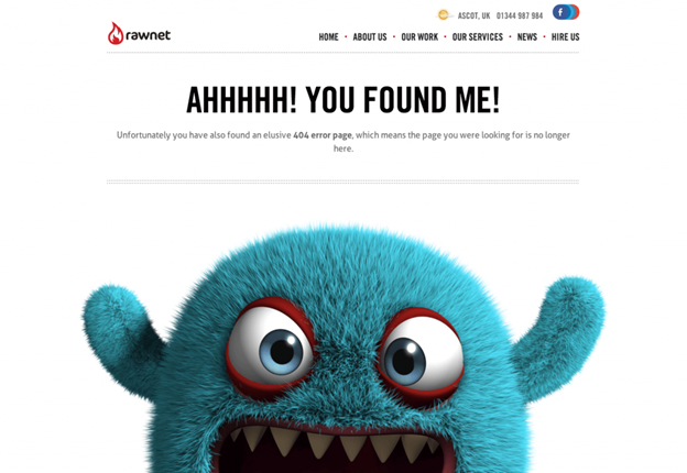 Creating interactive 404s - Use conversational language