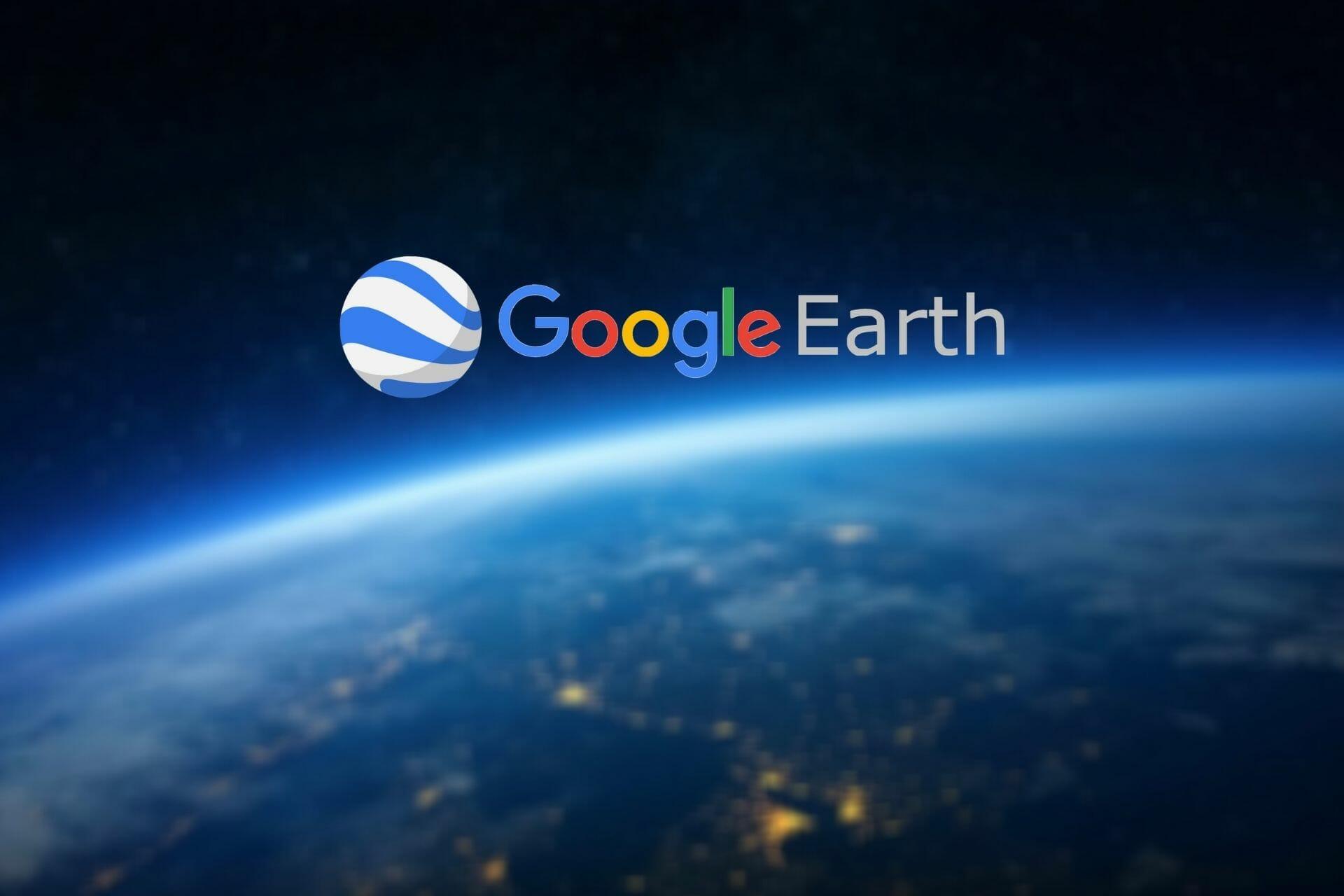 Chyba Google-Earth-proxy-serveru