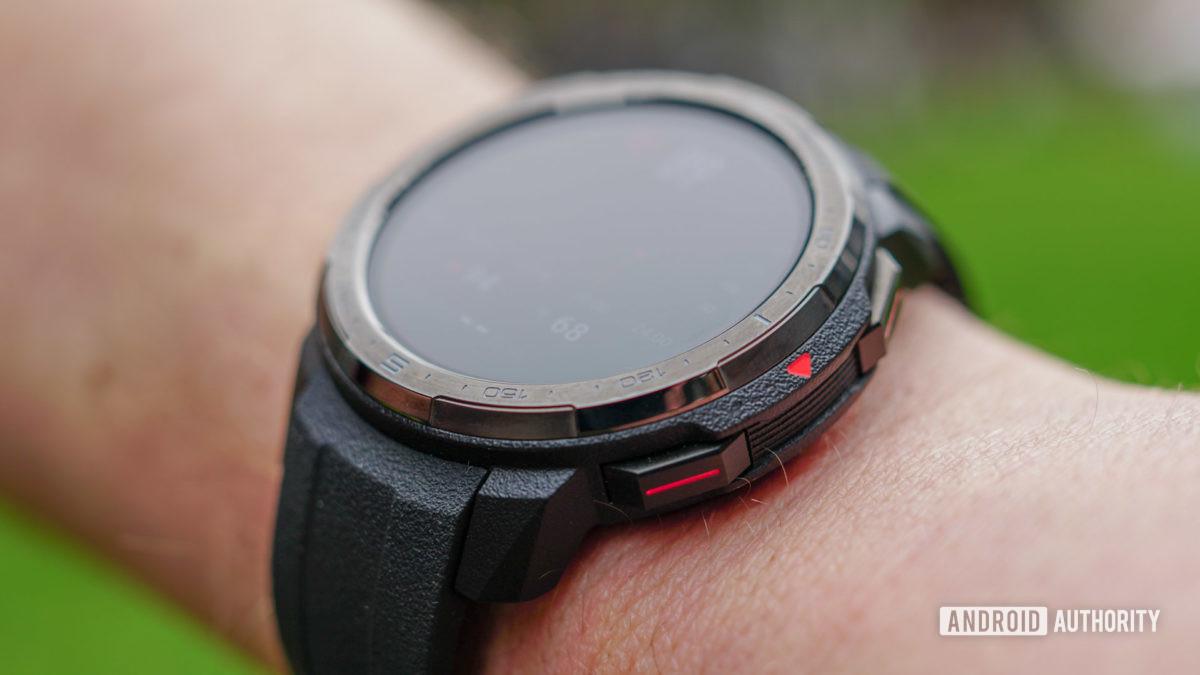 Honor Watch GS Pro笨拙的Boi設計