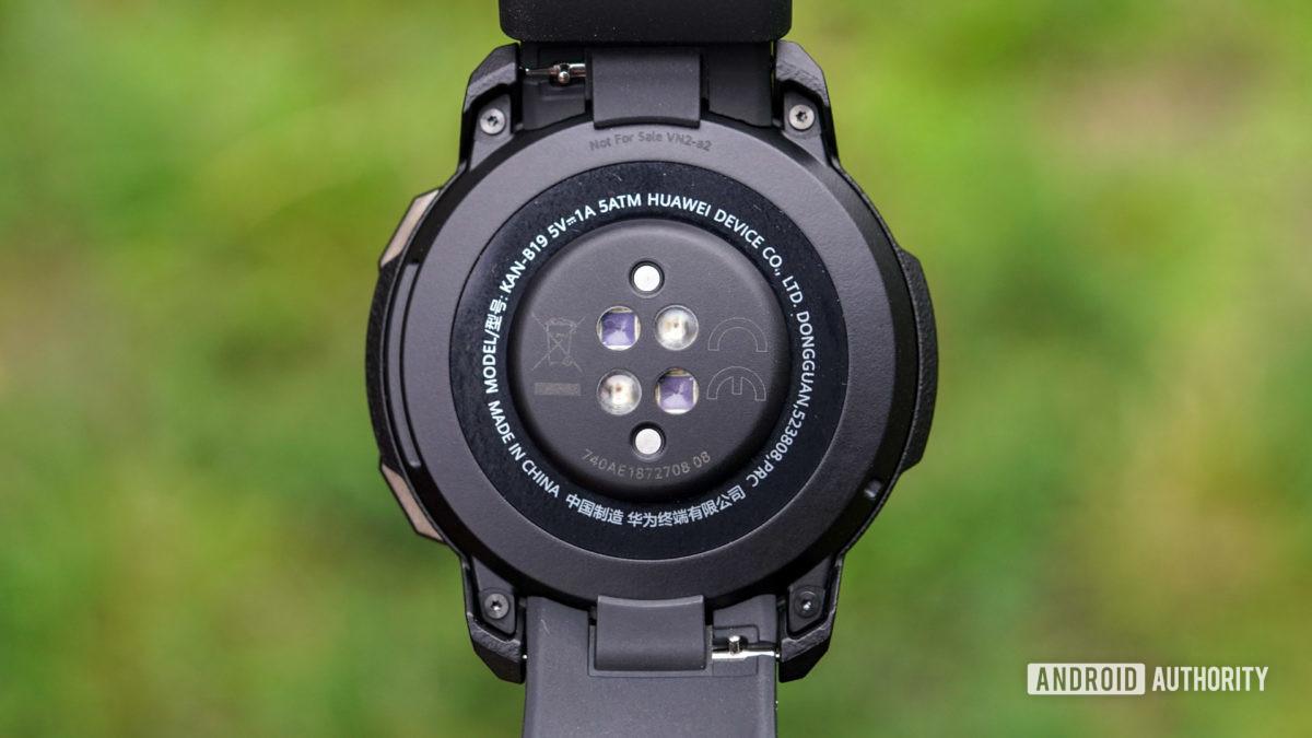 Honor Watch GS Pro心率傳感器和彈簧針