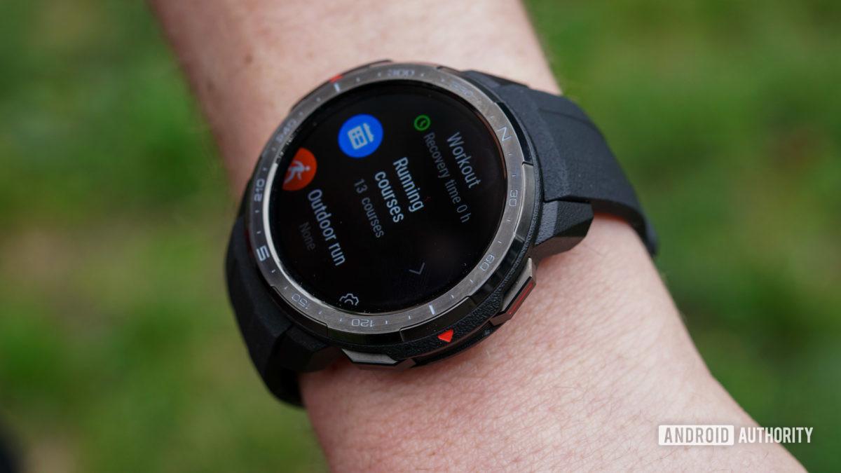 Honor Watch GS Pro鍛煉模式跑步課程