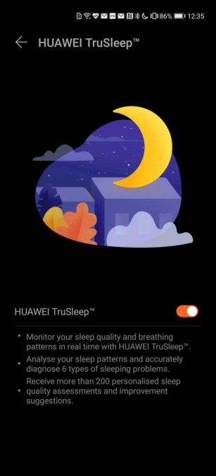 Huawei Health app Huawei TruSleep