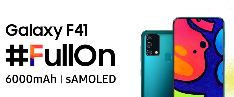Galaxy F41