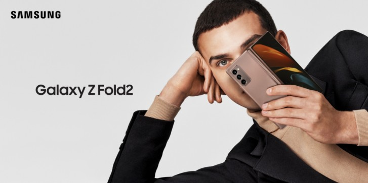 Check out Samsung'S Galaxy Z Fold2's official introduction videos and photos
