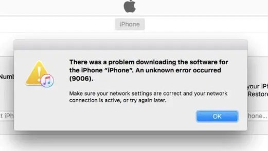 How to fix iPhone problems like iPhone keeps restarting and iPhone error 9006
